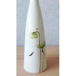 Vase à décor de lotus