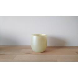 Vase/cache pot rond blanc...