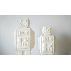 Robot porcelaine blanche...