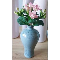 Vase miniature moucheté