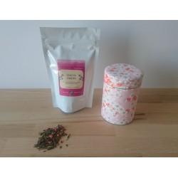 Boite et son sachet de thé japonais