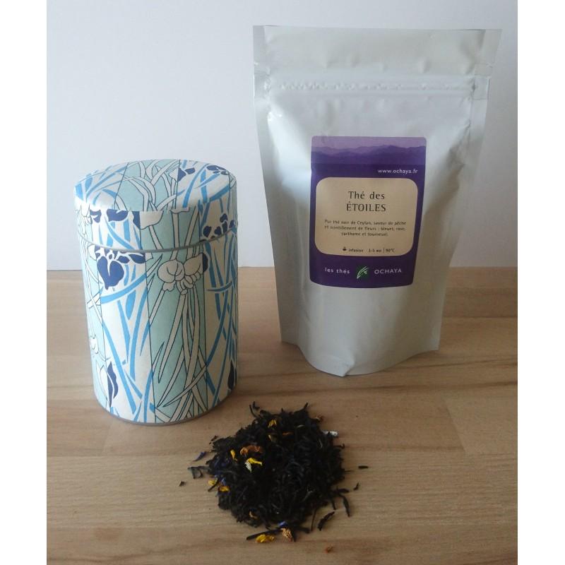 Boite et sachet de thé japonais