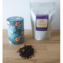 Sachet de thé japonais au choix et sa boite en papier japonais