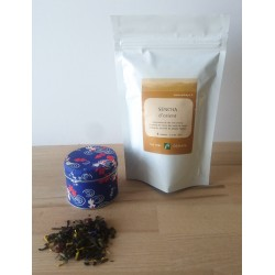 thé japonais et création française