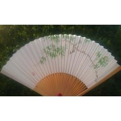 Éventail plissé, fabriqué à Kyoto au Japon.