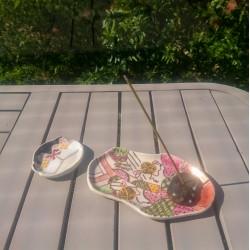 Assiette kimono Uchikake