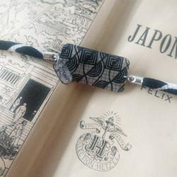 bracelet d'inspiration japonaise à l'allure moderne