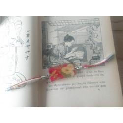 bracelet chirimen chrysanthème japonais.