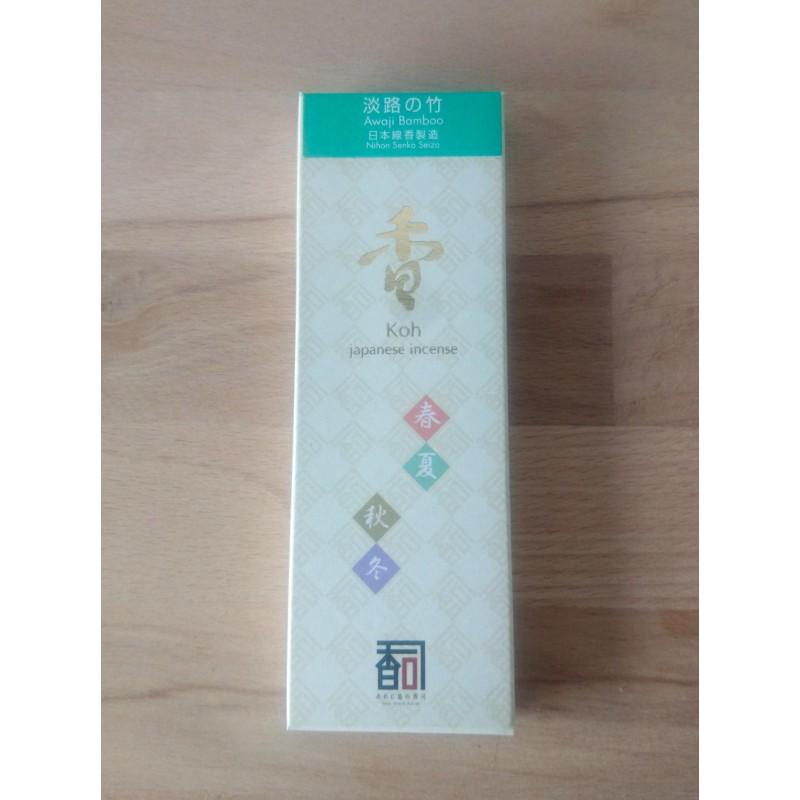 Awaji bamboo parfum d'encens japonais awaji koh shi