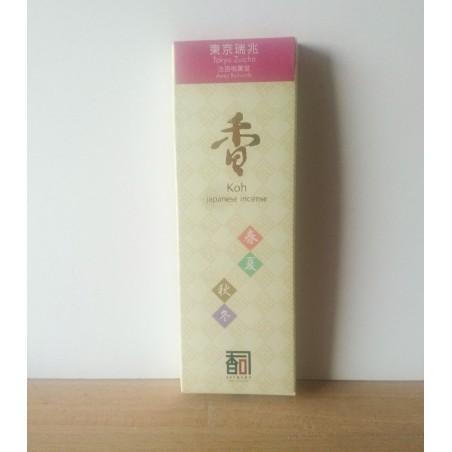 encens japonais artisanal inspiré par la frénésie de Tokyo crée par Awaji island koh shi et ses maître des senteurs.