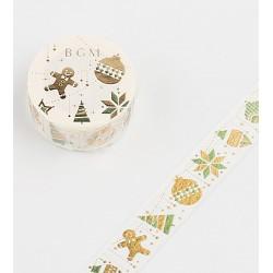 washi tape japonais de noel idéal pour vos paquets cadeaux.