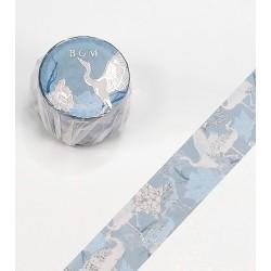 washi tape élégant motifs de grues
