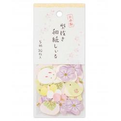 sitckers japonais de chez NB.CO hanami wagashi