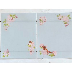 très mignon papier à lettre en bloc de chez Frontia marque japonais