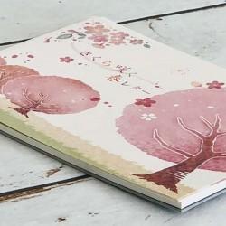 sakura papier à lettre japonais de chez Frontia