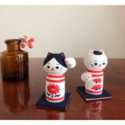 Kokeshi en céramique du Japon artisanat Marucoro chan rare