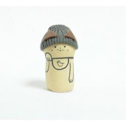 figurine de Kyoto manekineko céramique poterie