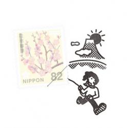 Cerf vollant et Fuji Tampon...