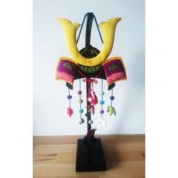 Un casque de samourai.