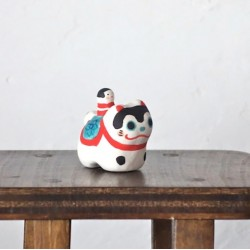 mini inu hariko céramique Kyoto Japon fait-main artisanat