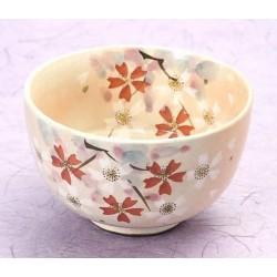 Bol à thé matcha Sakura...
