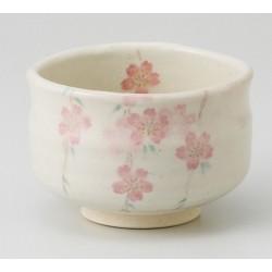 Bol Sakura fait main en céramique de Seto.