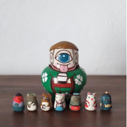 Eight Yokai Matryoshka...
