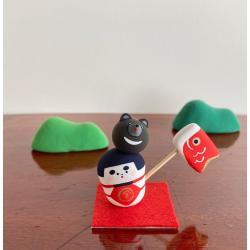 Kintaro par Marucoro chan artisanat japonais de Kanagawa