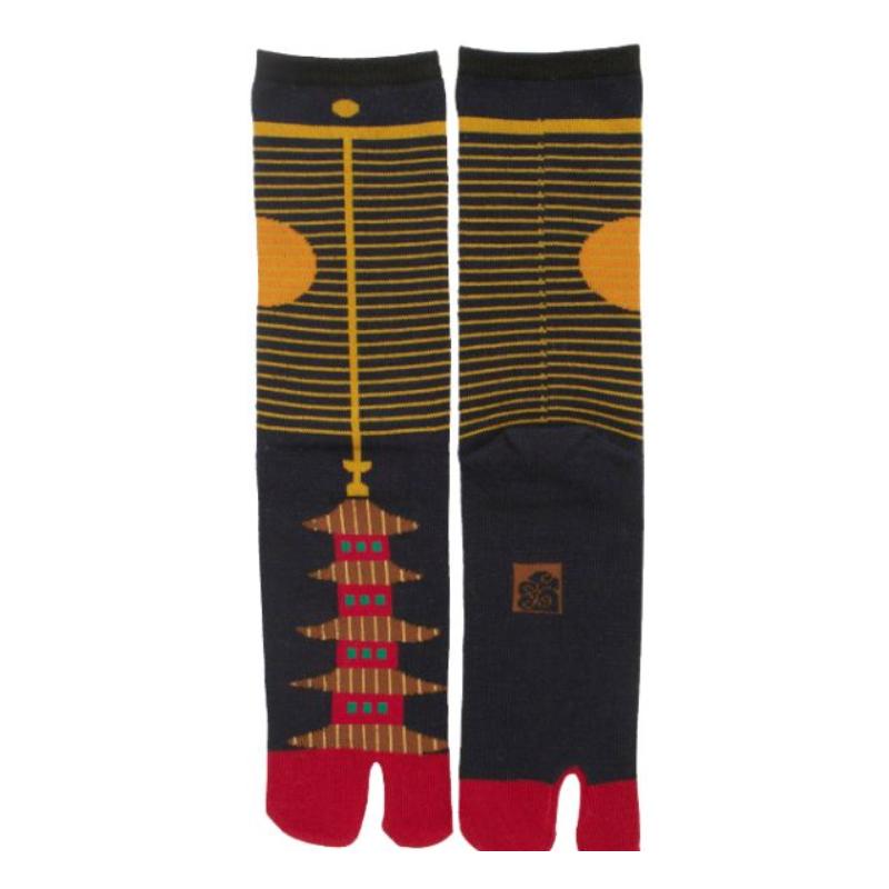 Japanese tabi pagoda socks