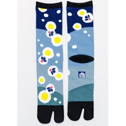 Japanese tabi fireflies socks