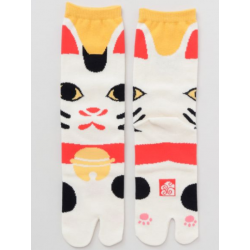 Japanese tabi manekineko socks