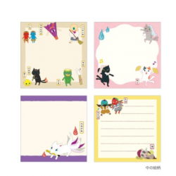 yokai stationery note pad