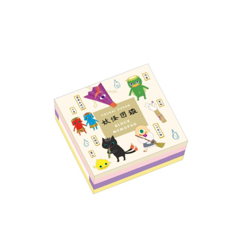 yokai stationery made in Japan Note pad