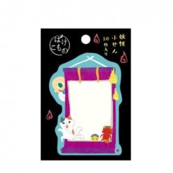 Sticky note yokai made in Japan Fujinami Uzura