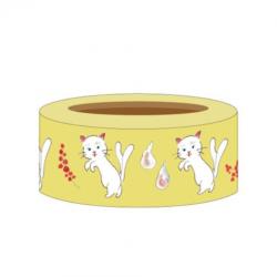 Washi tape yokai bakkeneko japanese stationery