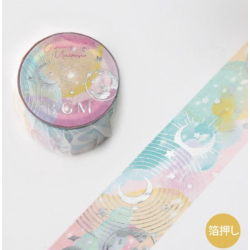 Washi tape Stamping space...