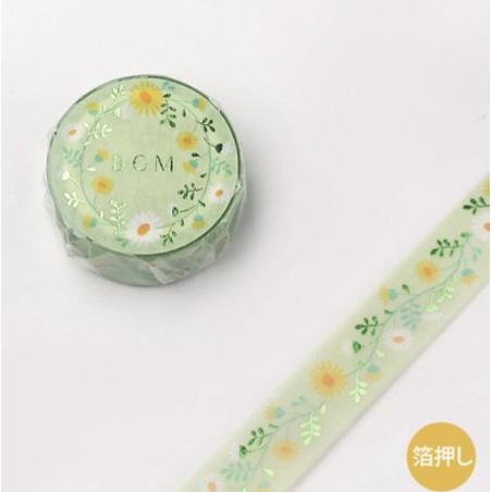 Washi tape Flowers chicks BGM