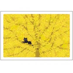 Postal card Autumn by Tabineko