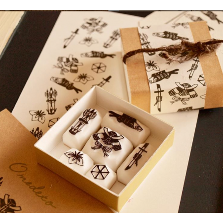 Kodomo no hi stamps set by Pivo Hankoholly