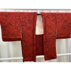 Haori with red and black...