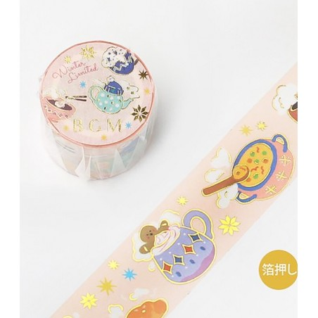 Washi tape winter table BGM Winter limited collection