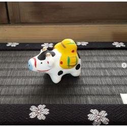 Ox and rice bags Ichinomiya hariko