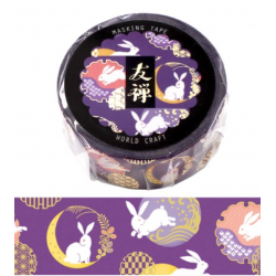 Yuzen otsukimi Washi tape World Craft