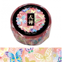 Yuzen butterfly Washi tape World Craft