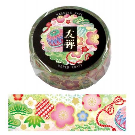 Temari Yuzen Washi tape World Craft