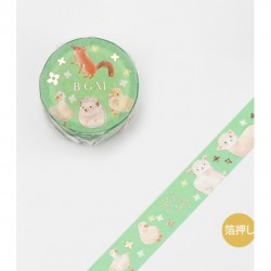 Forest Animals Zoo Washi Tape
