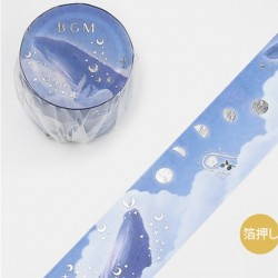 Washi tape Tale: Sea clouds BGM japanese stationery