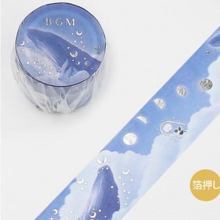 Washi tape Tale: Sea clouds BGM japanese stationery