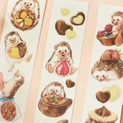 Washi tape chocolate...