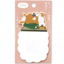 Sticky note shibata Hyokkori